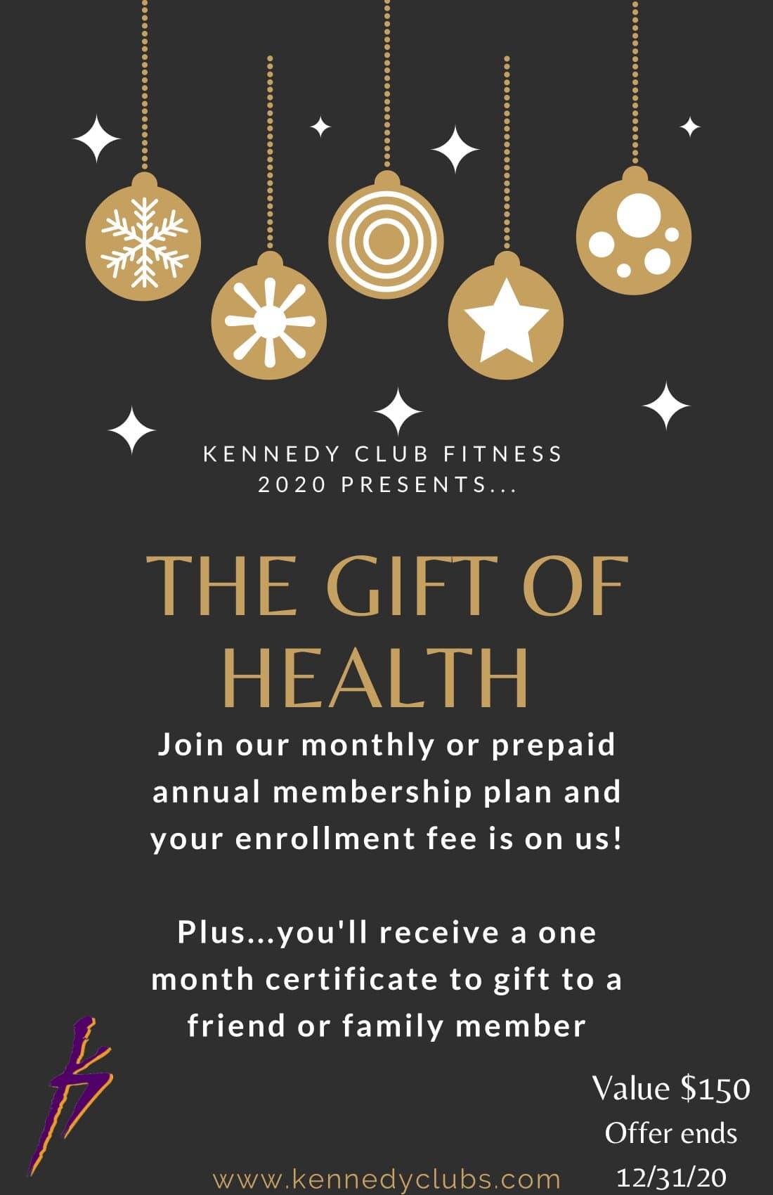 Kennedy Club Fitness Membership Special December 2020